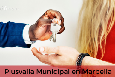Como calcular la plusvalía municipal en Marbella