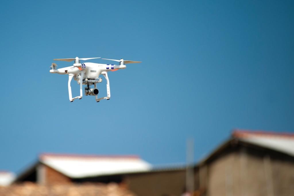 drones como sistema de seguridad
